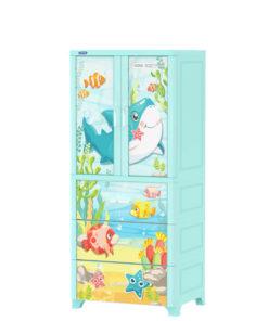 Tủ Nhựa WinG 2C-3N Duy Tân