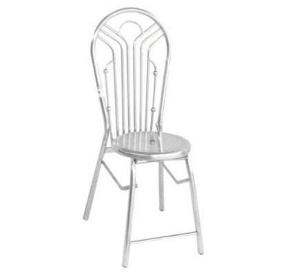 Ghế dựa xếp inox phi 25 - Qui Phúc
